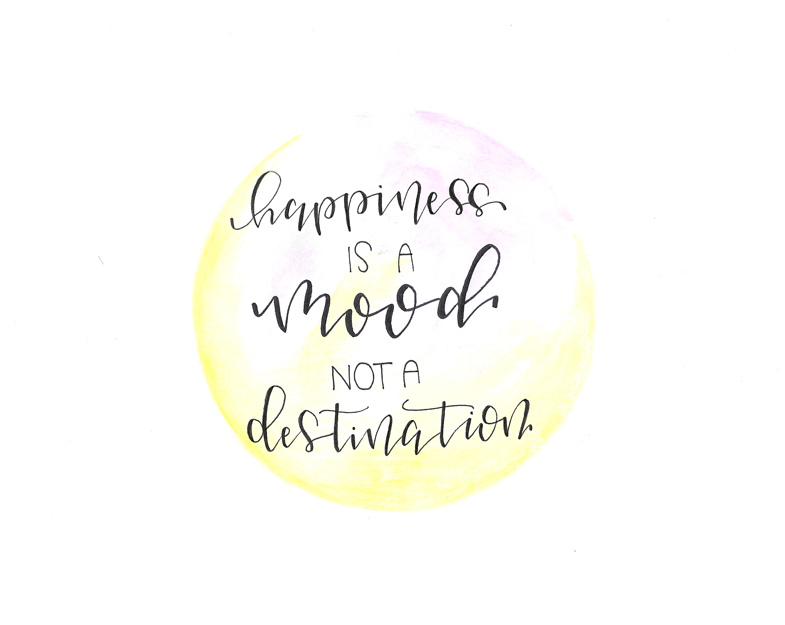 Happiness is a mood - not a destination! - Tanja Rickerts Blog